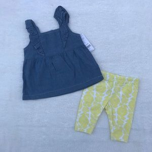 Carter's Outfit Size 6 Months NWT